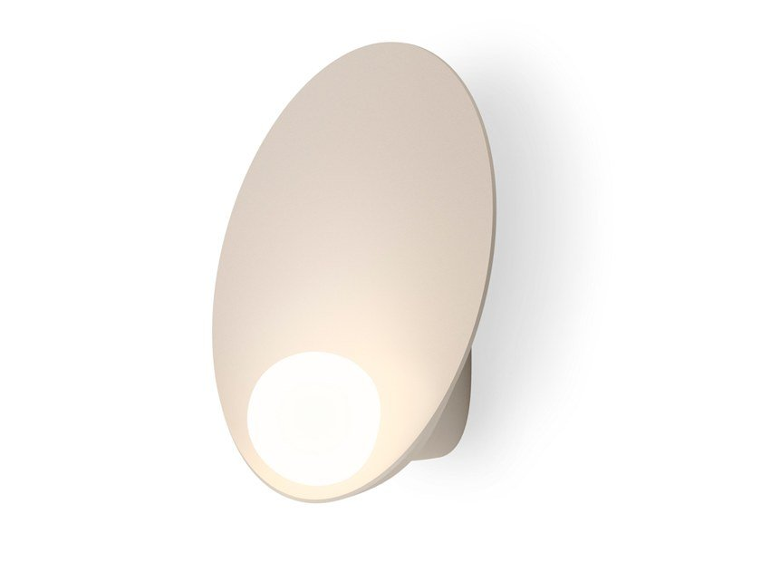LED blown glass wall light MUSA | Wall light by Vibia