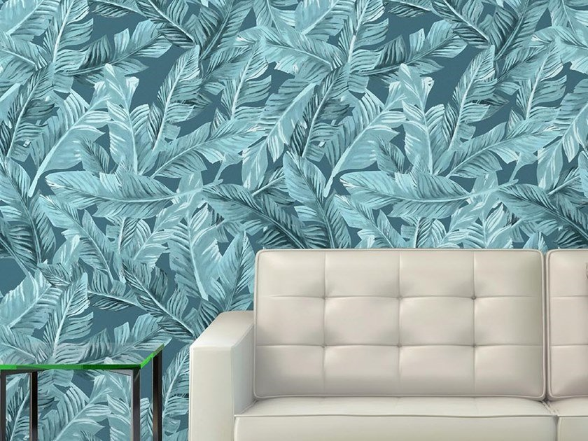 Tropical wallpaper, PVC free, eco, washable MUSA by Wallpepper