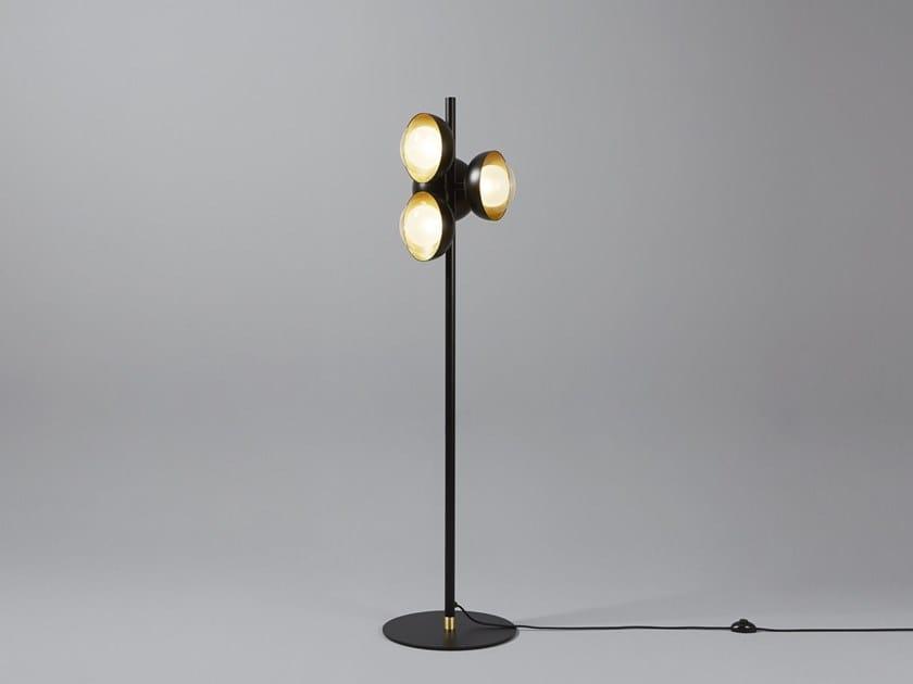 Muse lampada da terra collezione muse by tooy design corrado dotti