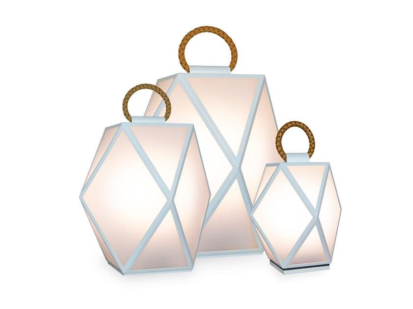 Lampada da tavolo per esterno a LED in vetro MUSE OUTDOOR BATTERY by Contardi
