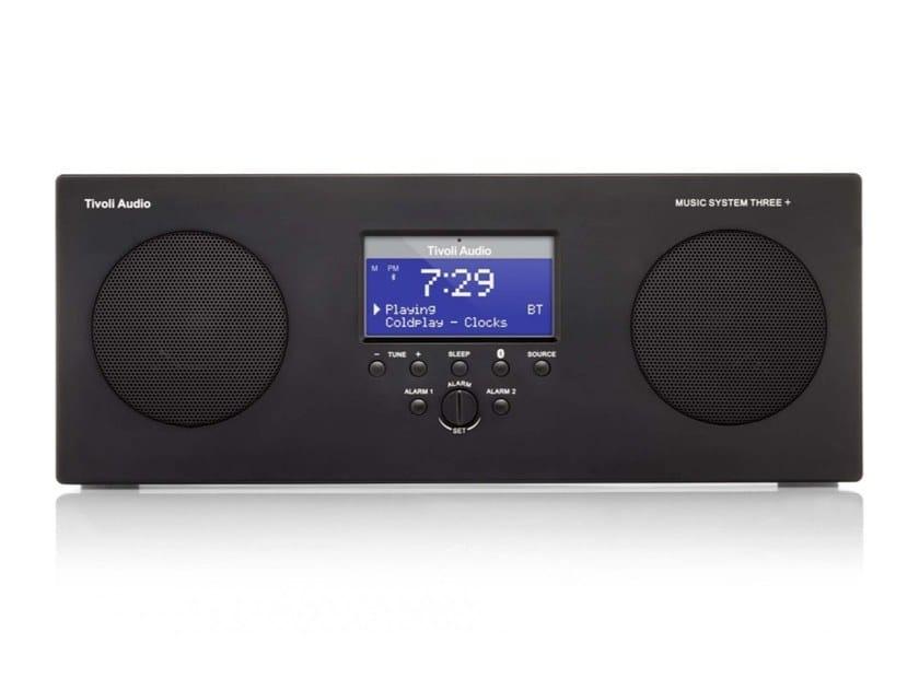 Diffusore acustico Bluetooth wireless MUSIC SYSTEM THREE+ by Tivoli Audio