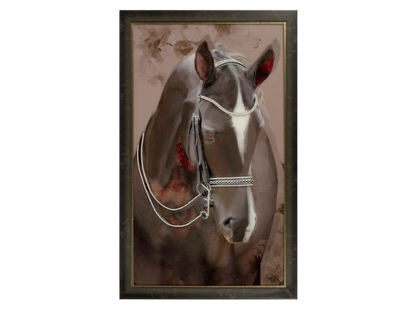 Print on glass MUSTANG by Green Apple