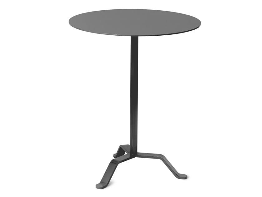 Round steel table MUSTASCH by Nola Industrier