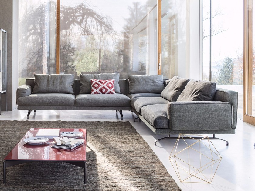 3 seater fabric sofa MUSTIQUE | Fabric sofa by Lema