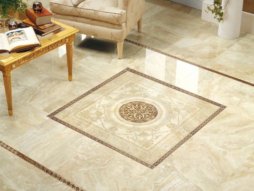 Porcelain stoneware wall/floor tiles MUVIM by Museum
