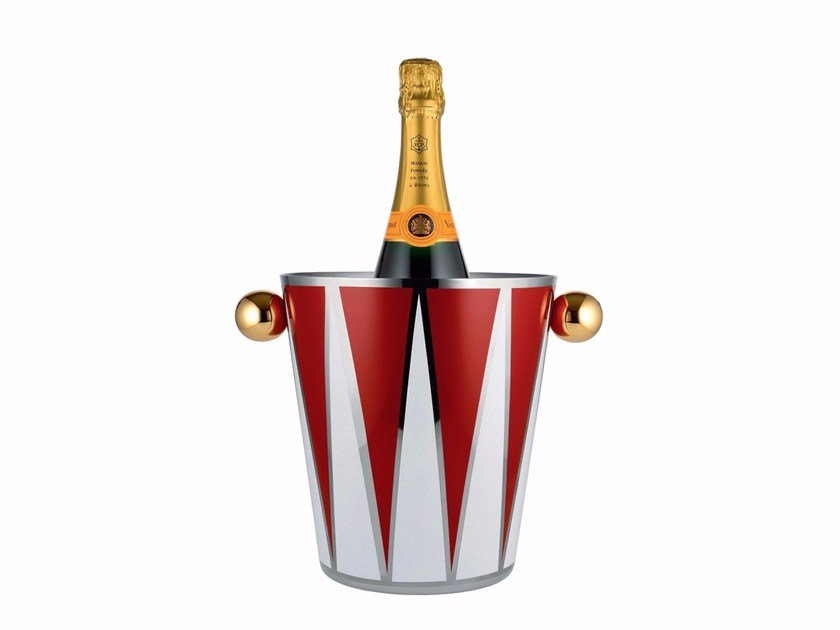 Stainless steel ice bucket MW54 | Ice bucket by Alessi