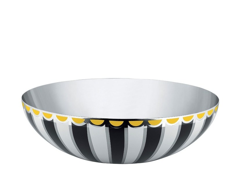 Stainless steel bowl MW55   Bowl by Alessi