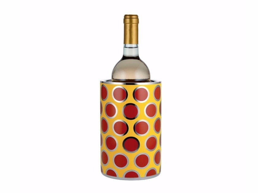 Stainless steel bottle rack MW57 | Bottle rack by Alessi