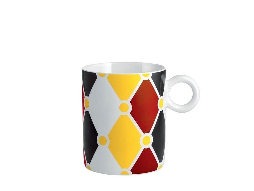 Porcelain mug MW58 | Mug by Alessi