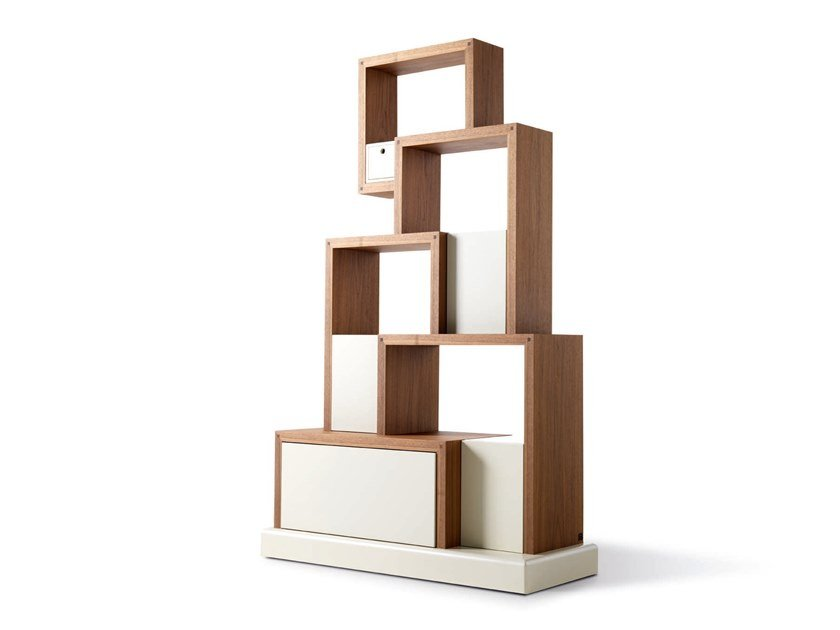 Sectional bookcase MY CAT - 730101 | Bookcase by Grilli
