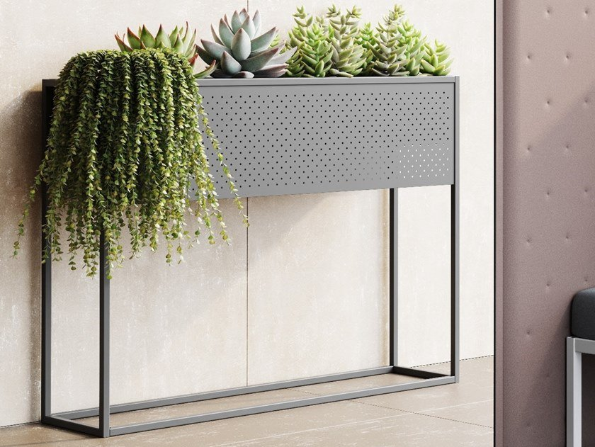 Portavaso in acciaio MY FLOWER by Steelbox by Metalway