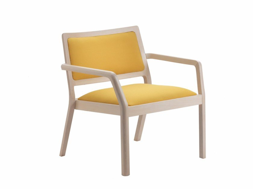 Upholstered easy chair MY FRAME | Easy chair by Segis