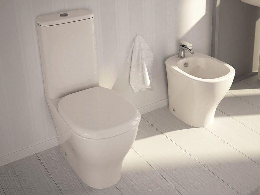 Ceramic toilet MY | Close coupled toilet by Hidra Ceramica