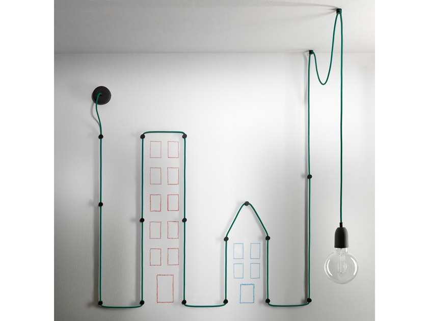 Direct light pendant lamp MY WIRE by GI Gambarelli