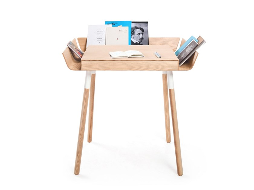 PC wooden writing desk with drawers MY  WRITING DESK SMALL by EMKO UAB