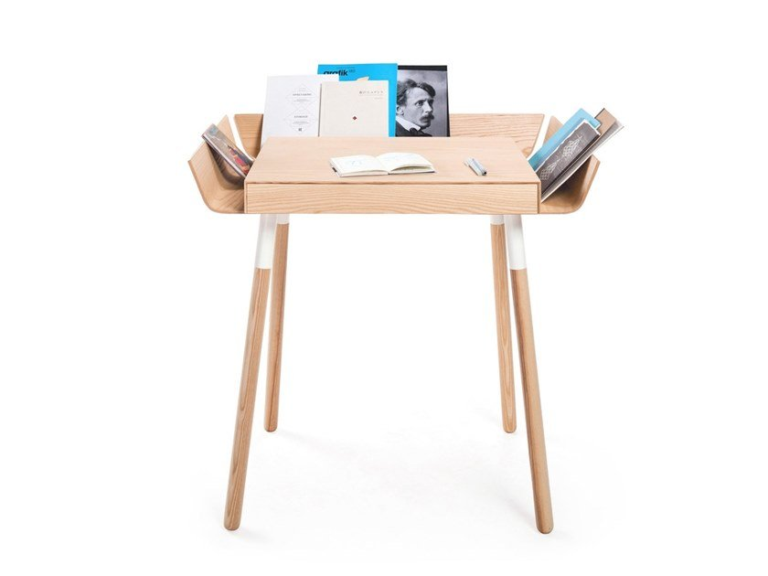 Pc Wooden Writing Desk With Drawers My Small By Emko Uab