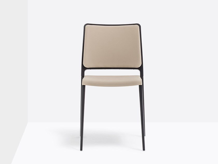 Imitation leather chair MYA 711 by Pedrali