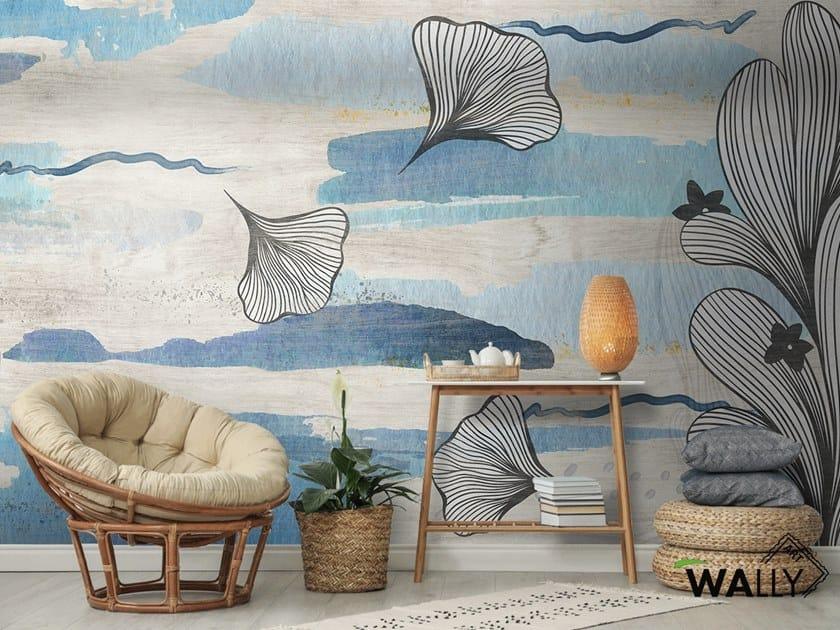 Carta da parati lavabile in tessuto non tessuto MYA by WALLYART