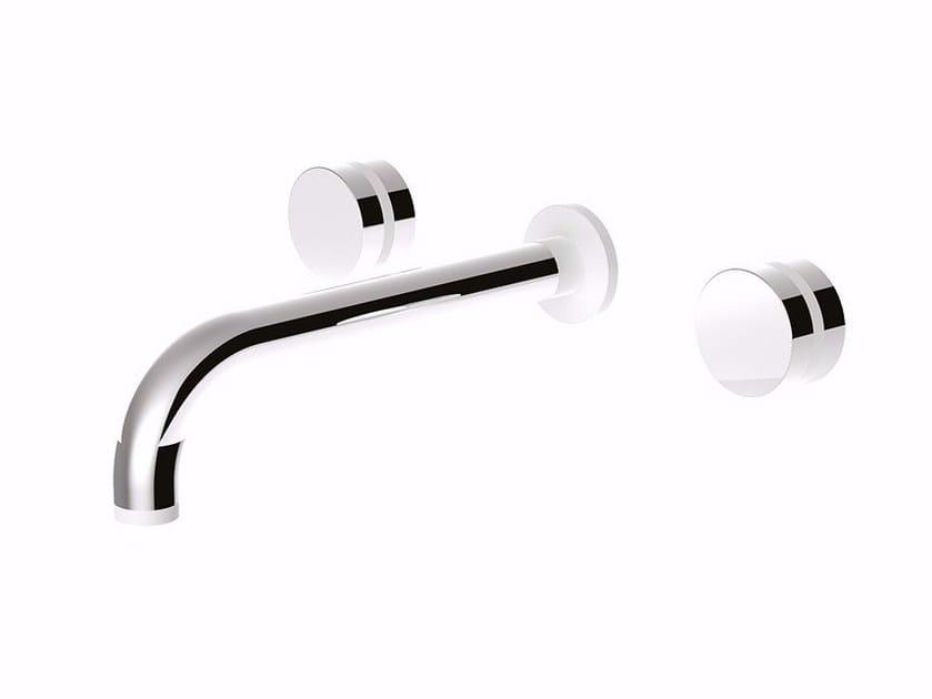 3 hole wall-mounted washbasin tap MYRING - FMR0123 by Rubinetteria Giulini