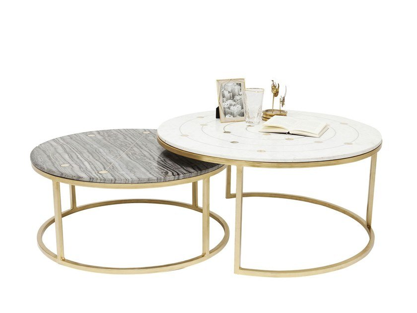 Mystic Table Basse Ronde By Kare Design