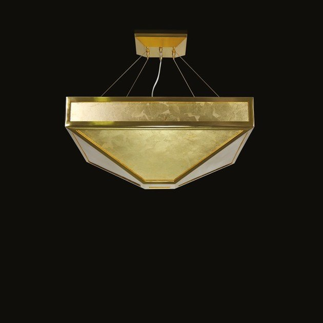 Contemporary style LED handmade glass pendant lamp MYSTIQUE | Murano glass pendant lamp by MULTIFORME