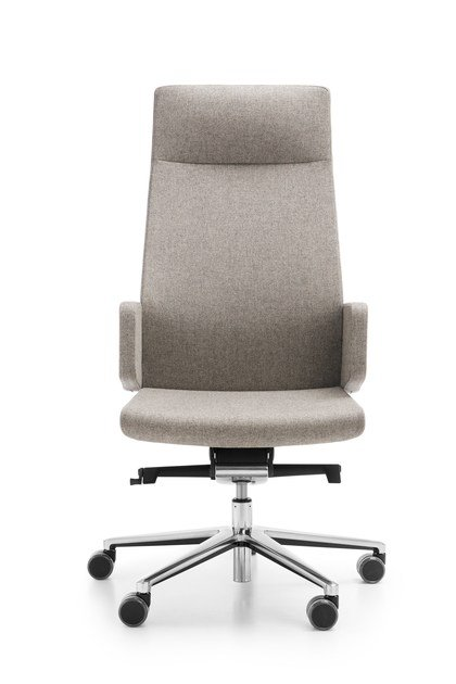 Swivel task chair with 5-Spoke base with armrests MYTURN 10S/10Z by profim