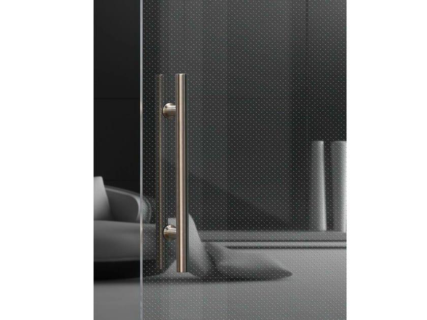 Vetro trasparente con texture per illuminazione a led madras® punto
