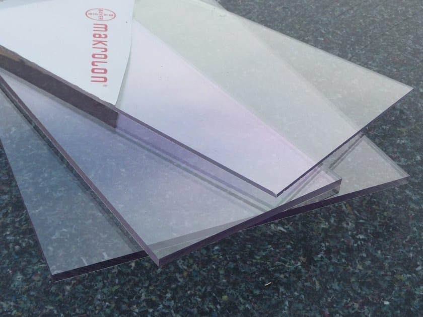 High-performance solid polycarbonate sheet Makrolon® TITAN by Apa Group Spa