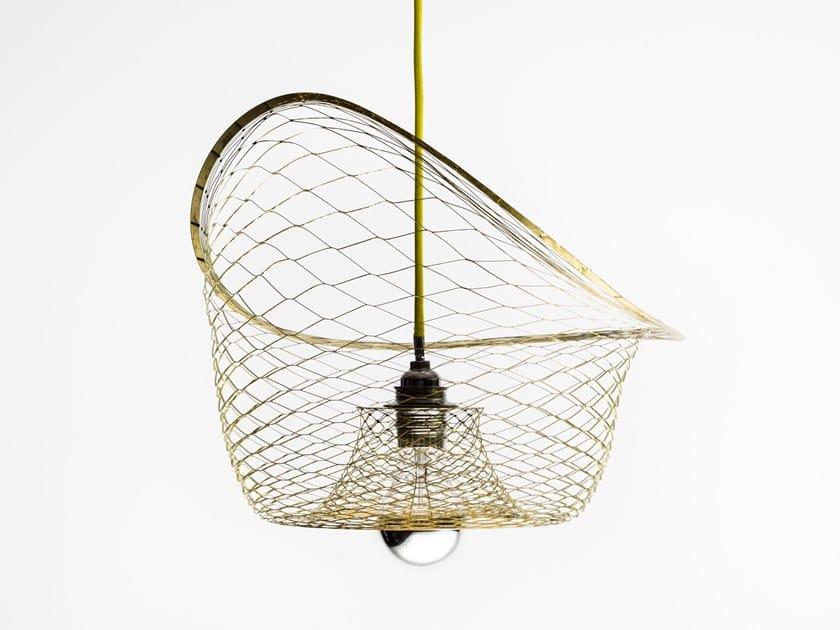Brass pendant lamp MELAMP AURORA 40 - BOWL | Pendant lamp by Caino Design