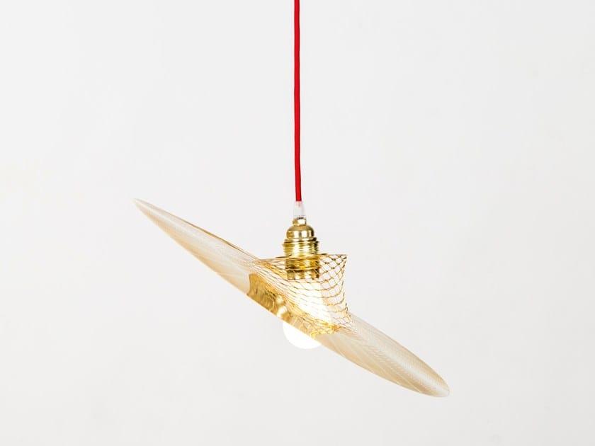 Pendant lamp MELAMP AURORA 40 - DIAGONAL by Caino Design