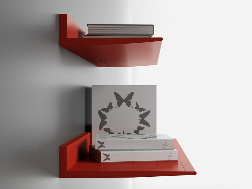Aluminium wall shelf Wall shelf by De Rosso