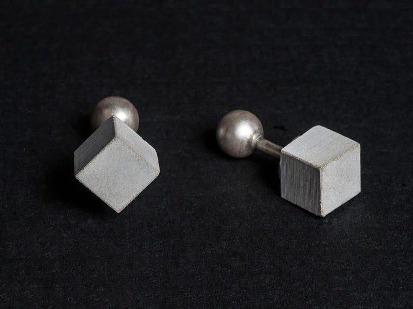 Gemelli in calcestruzzo Micro Concrete Cufflinks #2 by mim studio