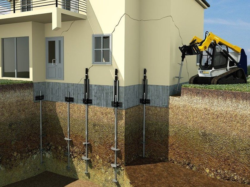 Ground and foundation consolidation Micropiles by Systab