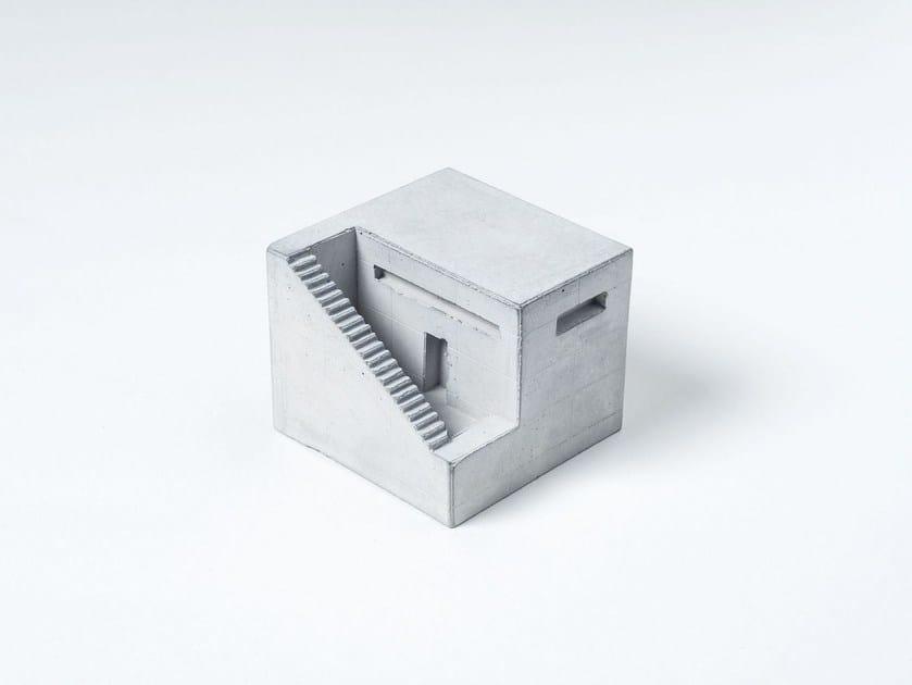 Concrete architectural model Miniature Concrete Home #1 by mim studio