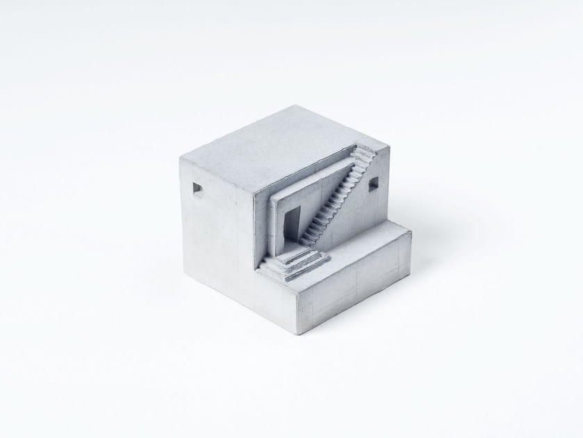 Modellino architettonico in calcestruzzo Miniature Concrete Home #2 by mim studio