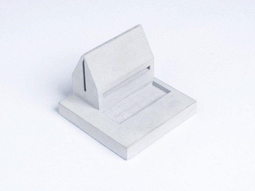 Concrete Furniture knob / architectural model Miniature Home Concrete #1 by mim studio
