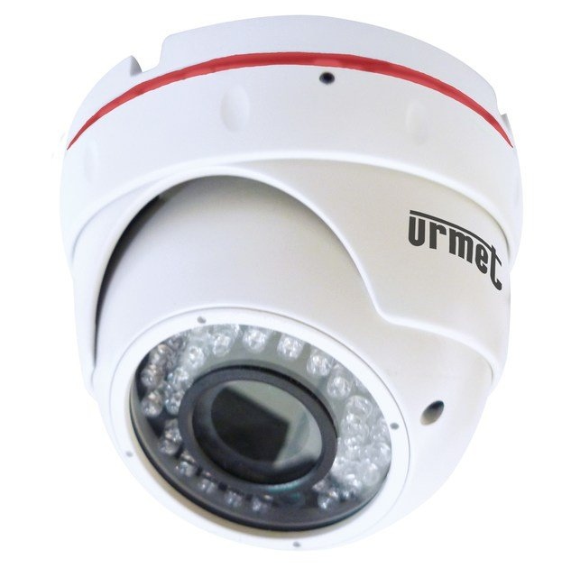 Sistema di sorveglianza e controllo Minidome IP 1080p ottica fissa 3,6mm by Urmet