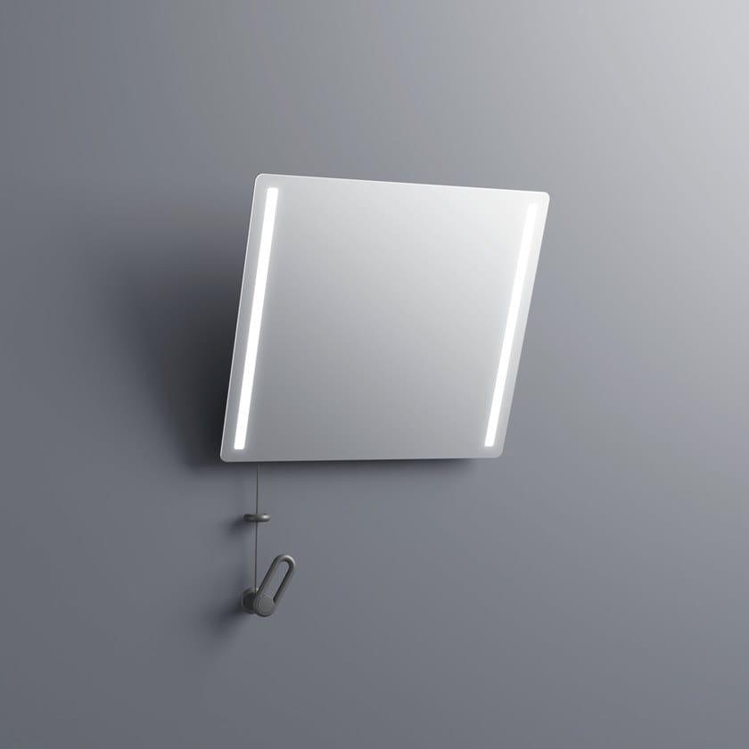 Specchio con illuminazione integrata