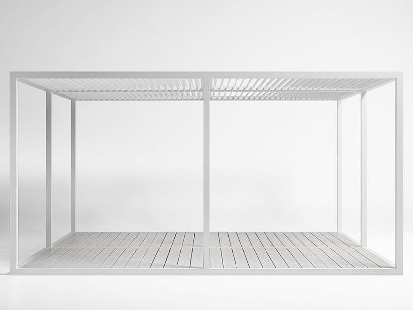 Tetto Alluminio Mobile e Pavimento pergola 3