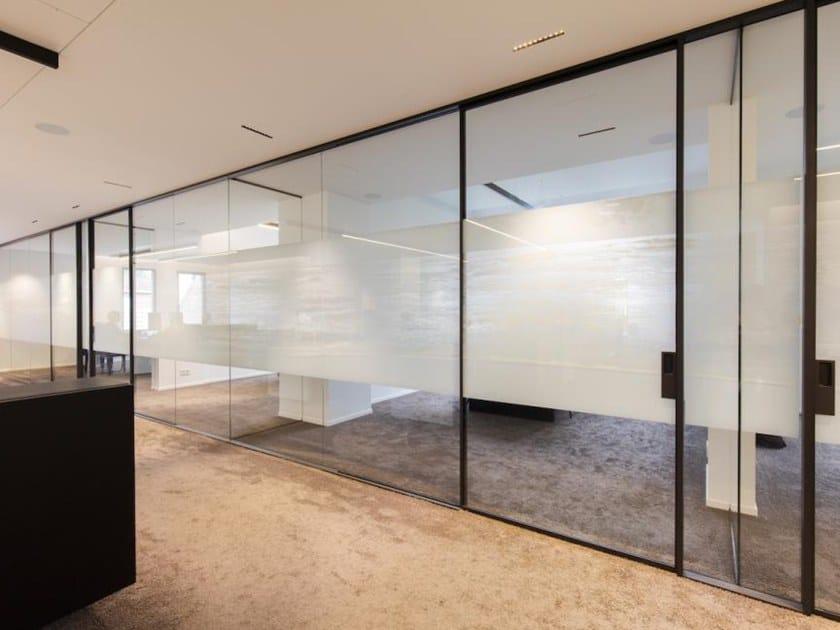 Parete Divisoria Ufficio : Parete mobile in vetro per ufficio pareti divisorie modulari per