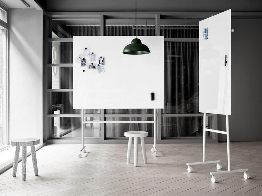 Pareti Lavagna Magnetica : Lavagna per ufficio magnetica con ruote lavagna magnetica in vetro