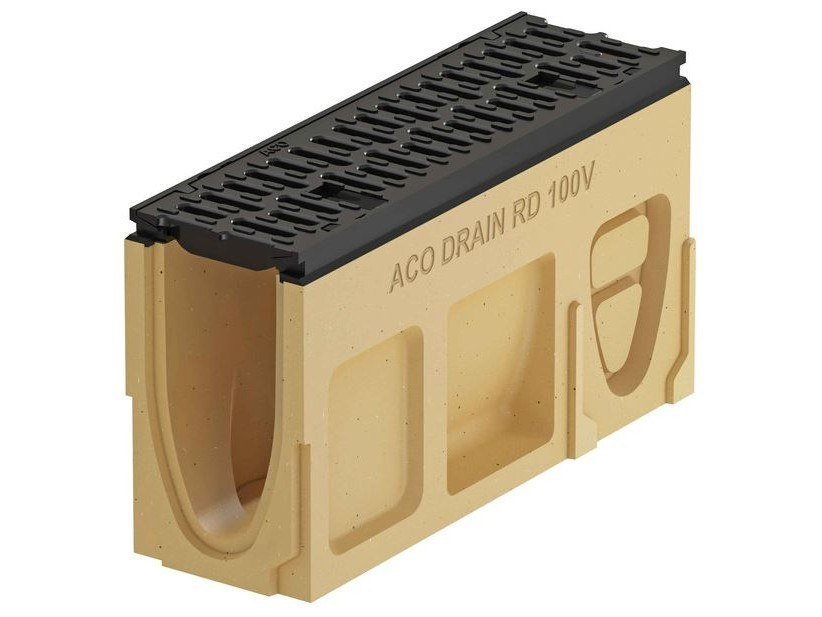 Inspection pit and cover Monoblock PD100 V - Inspection element by ACO PASSAVANT
