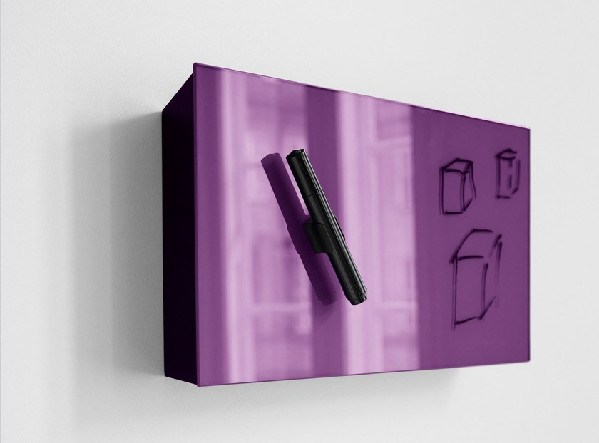 Pen holder for magnetic whiteboards Mood Box by Lintex