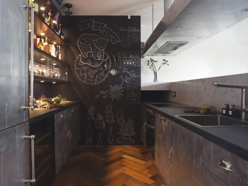 Cucina componibile con maniglie MOSCA by Marchi Cucine