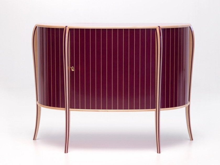 Wooden sideboard N 0634 | Sideboard by Annibale Colombo