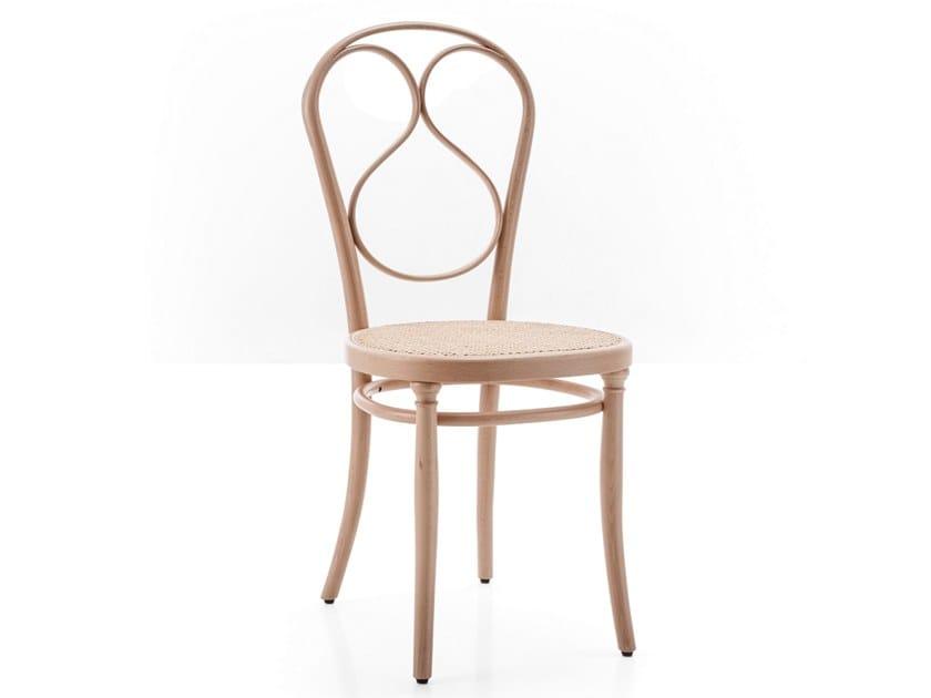 Solid wood chair N.1 by Wiener GTV Design