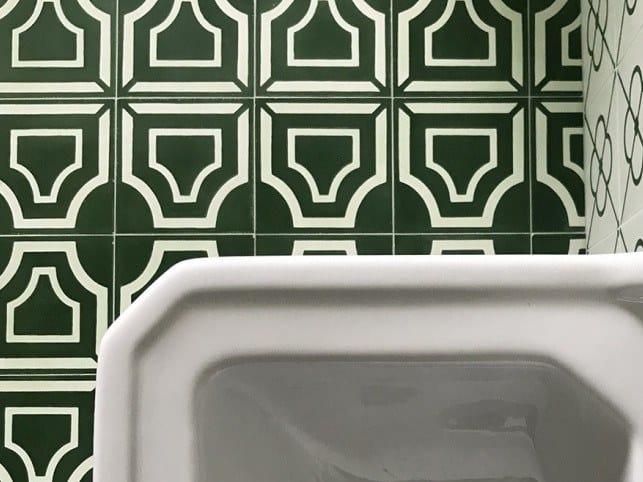 Cement wall/floor tiles N°10 | Wall/floor tiles by BEAUREGARD