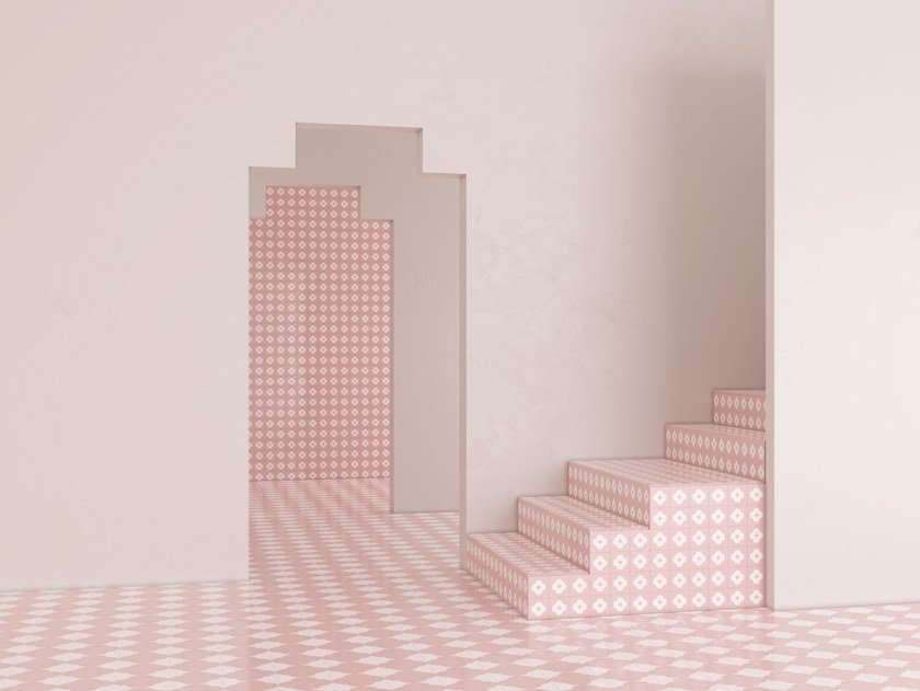 Cement wall/floor tiles N°11B   Wall/floor tiles by BEAUREGARD