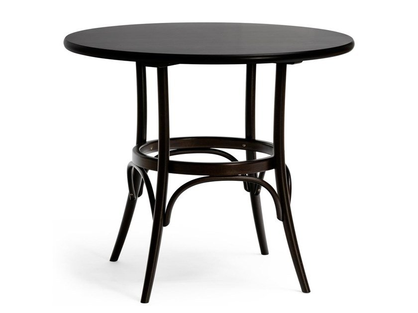 Round solid wood table N° 252 by TON