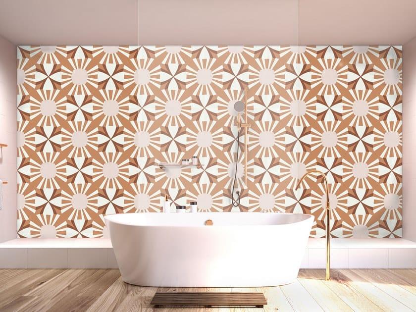 Cement wall/floor tiles N°34 | Wall/floor tiles by BEAUREGARD